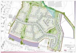 Old Catton Site Layout